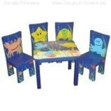 Комплект Sea Collection Set -Стол и 4 стула Chair
